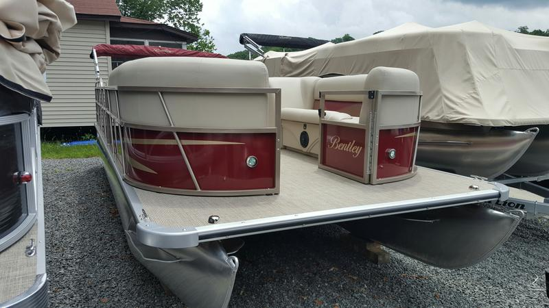 Bentley Pontoon Boats